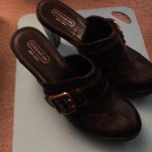 Coach Candace heels- size11